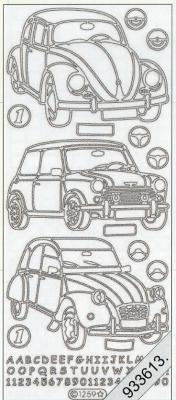 Stickers Fahrzeug gold - gold, gold,  gold,  Art - Stickers,  Autos