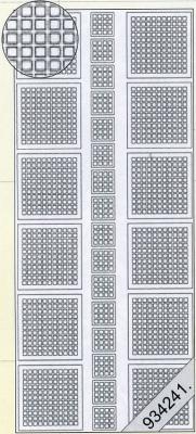 Stickers Ganze-vierecken weiß - weiß, weiß,  weiß,  Art - Stickers