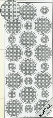 1 Stickers - 10 x 23 cm  - weiß, weiß,  weiß,  Art - Stickers