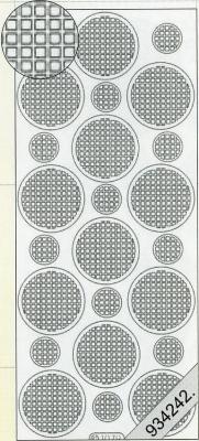 Stickers Ganze-rund schwarz - schwarz, schwarz,  schwarz,  Art - Stickers