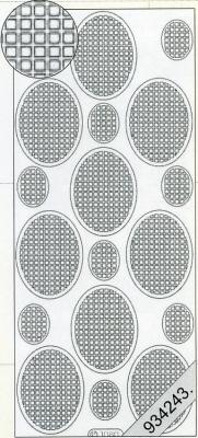 1 Stickers - 10 x 23 cm  - rosa, rose,  Art - Stickers,  Jahreszeit - Everyday,  Muster