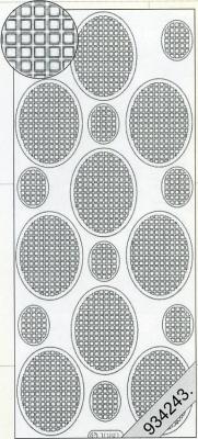 1 Stickers - 10 x 23 cm  - grün, grün,  grün,  Art - Stickers