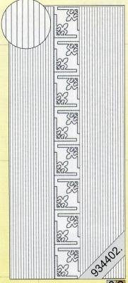 Stickers Bordüren / Linien - silber, silber,  Art - Stickers,  Jahreszeit - Everyday,  Linien