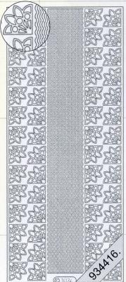 Stickers Bordüren / Linien - gold, gold,  Muster - Ecken,  Muster - Ränder,  Jahreszeit - Everyday,  Rand,  Ecken