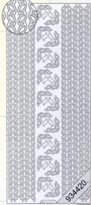 Stickers Bordüren / Linien - gold, gold,  Muster - Ränder,  Art - Stickers,  Jahreszeit - Everyday,  Rand