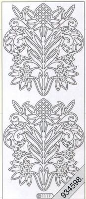 Stickers Ornamente - gold, gold,  Art - Stickers,  Jahreszeit - Everyday,  Ornamente