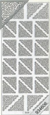 Stickers Ecken - gold, gold,  Muster - Ecken,  Art - Stickers,  Jahreszeit - Everyday,  Ecken