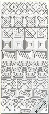 Starform, gold,  Muster - Ecken,  Art - Stickers,  Jahreszeit - Everyday,  Ecken,  Muster