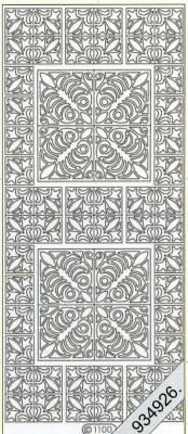Stickers Ornamente - silber, silber,  Jahreszeit - Everyday,  Ornamente