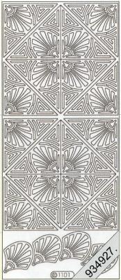 Starform, silber,  Muster - Ecken,  Jahreszeit - Everyday,  Ornamente,  Ecken
