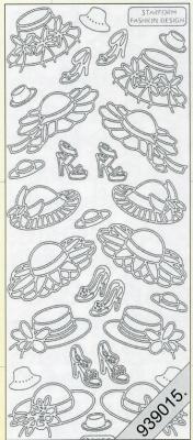 Stickers Hüte weiß - weiß, weiß,  weiß,  Art - Stickers