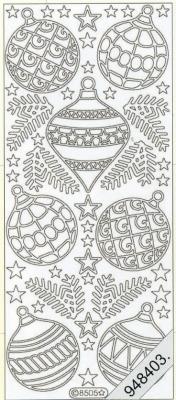 Stickers Figuren / Motive - Weihnachten - weiß, weiß,  Art - Stickers