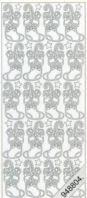 Stickers Weihnachtsstiefel gold - gold, gold,  gold,  Art - Stickers