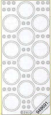 Stickers Glitzer-Stickers, transparent - gold, gold,  Art - Stickers Glitter transparent,  Art - Glitter Sticker,  Stickers Glitter transparent