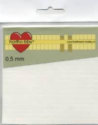 Form-Pads 0,5 mm - 5x5 mm,  Form Pads,  Klebeband,  klebefolie