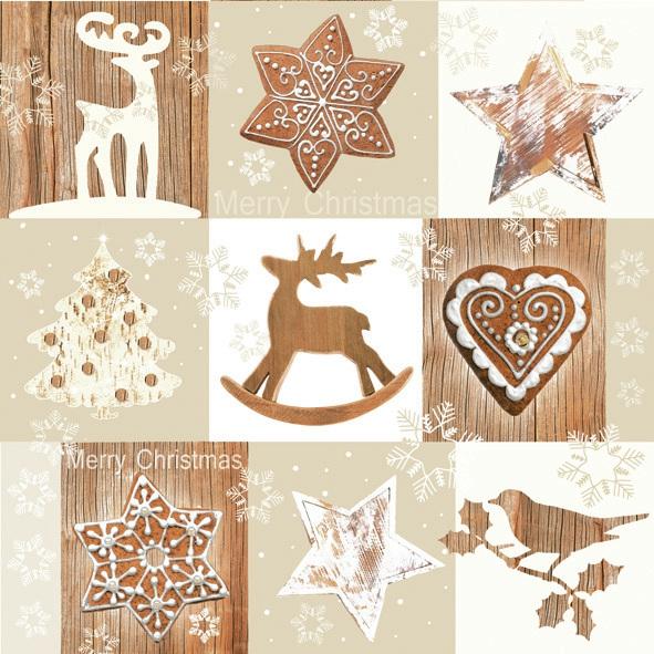 Daisy,  Tiere - Vögel,  Weihnachten - Weihnachtsbaum,  Weihnachten - Sterne,  Weihnachten,  lunchservietten,  Herzen,  Hirsch,  Vögel