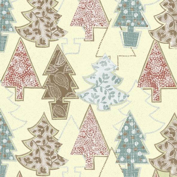 Servietten nach Jahreszeiten,  Weihnachten - Weihnachtsbaum,  Weihnachten,  lunchservietten,  Weihnachtsbaum