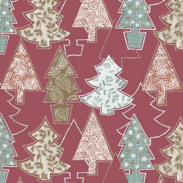 Servietten nach Firmen,  Weihnachten - Weihnachtsbaum,  Weihnachten,  lunchservietten,  Weihnachtsbaum