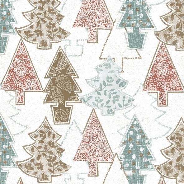 Lunch Servietten ,  Weihnachten - Weihnachtsbaum,  Weihnachten,  lunchservietten,  Weihnachtsbaum