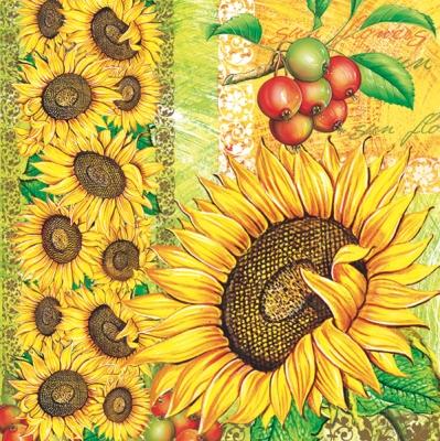 Daisy,  Blumen -  Sonstige,  Blumen - Sonnenblumen,  Blumen,  Everyday,  lunchservietten