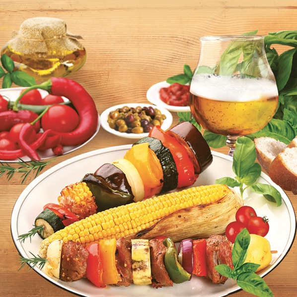 Lunch Servietten BBQ / Grillabend