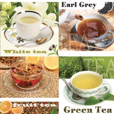 Lunch Servietten Tea,  Getränke Kaffee / Tee,  Everyday,  lunchservietten,  Teetasse,  Tee