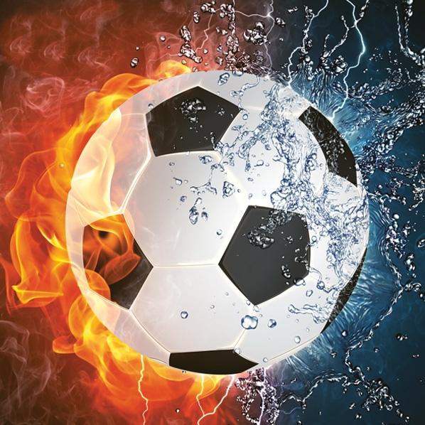 Daisy,  Sport - Fußball,  Everyday,  lunchservietten,  Fussball