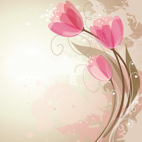Motivservietten Gesamtübersicht,  Blumen - Tulpen,  Frühjahr,  lunchservietten,  Tulpen