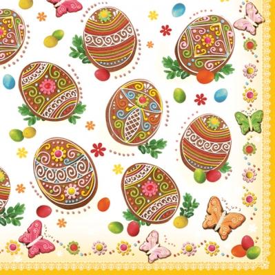 Lunch Servietten Ostereier,  Ostern - Ostereier,  Ostern,  lunchservietten,  Ostereier