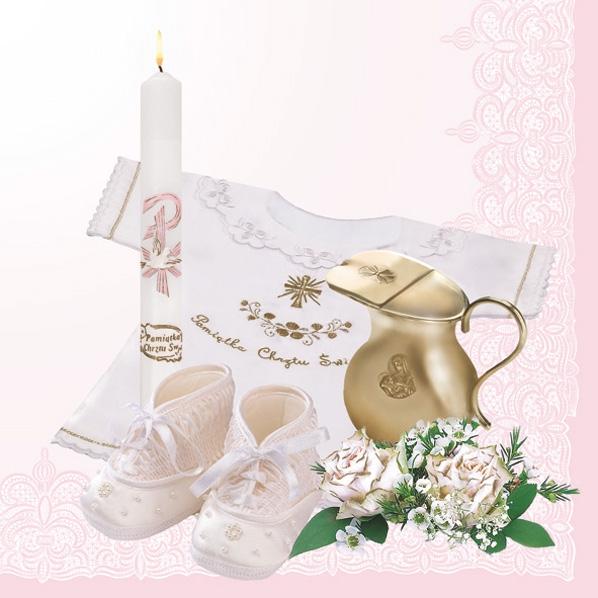 Lunch Servietten Taufe rose,  Menschen - Babys,  Blumen - Rosen,  Ereignisse - Geburt,  Everyday,  lunchservietten