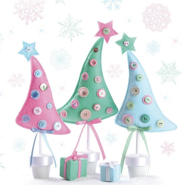 Servietten nach Jahreszeiten,  Winter - Kristalle / Flocken,  Weihnachten - Sterne,  Weihnachten - Weihnachtsbaum,  Weihnachten,  lunchservietten,  Geschenke,  Sterne,  Schneeflocken