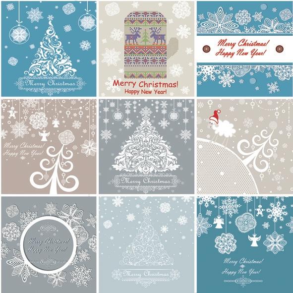 Servietten Tiermotive,  Weihnachten - Baumschmuck,  Winter - Kristalle / Flocken,  Weihnachten,  lunchservietten,  Schneeflocken,  Weihnachtsbaum
