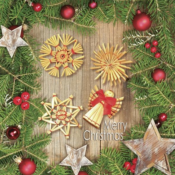 Lunch Servietten ,  Weihnachten - Baumschmuck,  Weihnachten,  lunchservietten,  Baumschmuck