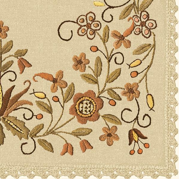 Lunch Servietten Flower Ornaments,  Blumen -  Sonstige,  Everyday,  lunchservietten