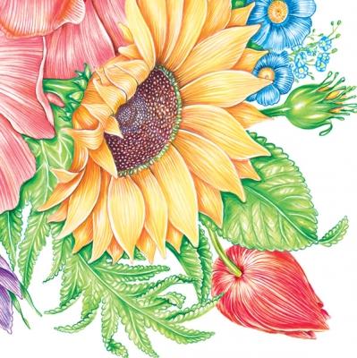 Lunch Servietten Sonnenblume,  Blumen - Sonnenblumen,  Everyday,  lunchservietten,  Sonnenblume