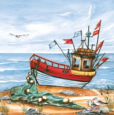 Servietten / Schiffe,  Regionen - Strand / Meer - Schiffe,  Regionen - Strand / Meer,  Everyday,  lunchservietten,  Boote