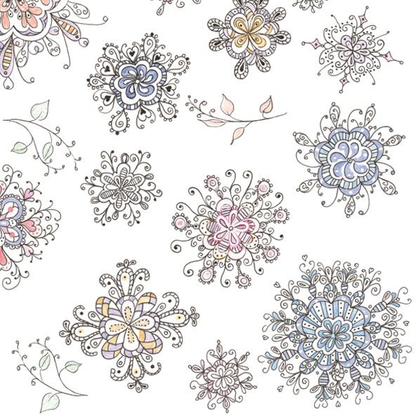 Lunch Servietten Blumenmuster,  Sonstiges -  Sonstiges,  Everyday,  lunchservietten,  Ornamente