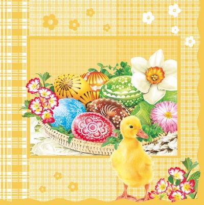 Lunch Servietten Easter Baskets
