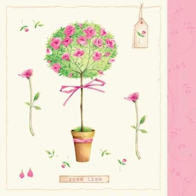 Servietten nach Motiven,  Blumen - Rosen,  Everyday,  lunchservietten