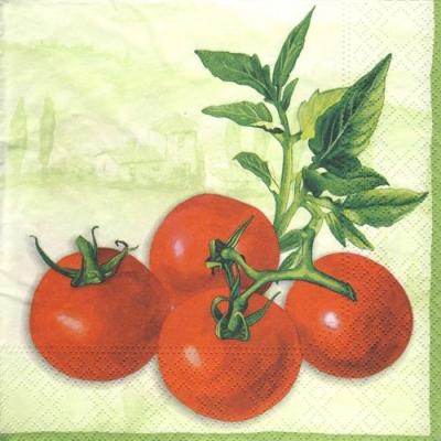 Servietten nach Motiven,  Gemüse - Tomaten,  Everyday,  lunchservietten