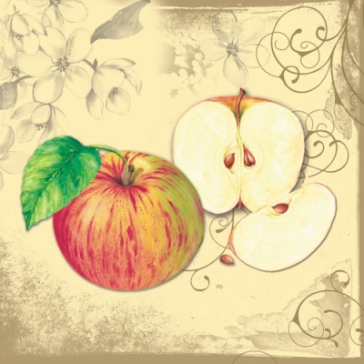 Lunch Servietten Apple Blossom,  Sonstiges - Muster,  Früchte - Äpfel,  Everyday,  lunchservietten