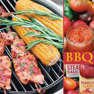 Lunch Servietten Barbecue,  Gemüse - Mais,  Essen - Fleisch,  Everyday,  lunchservietten