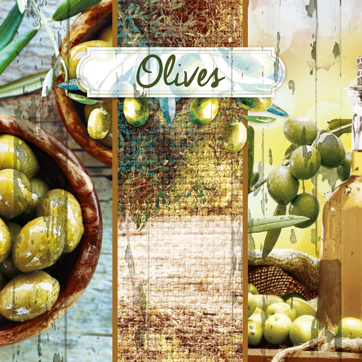 Lunch Servietten Olive Garden