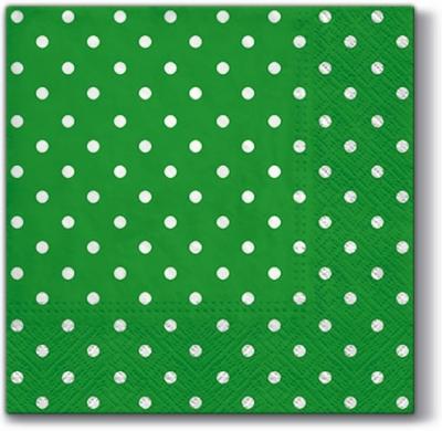 Servietten nach Firmen,  Sonstiges - Muster,  Everyday,  lunchservietten,  Punkte,  grün