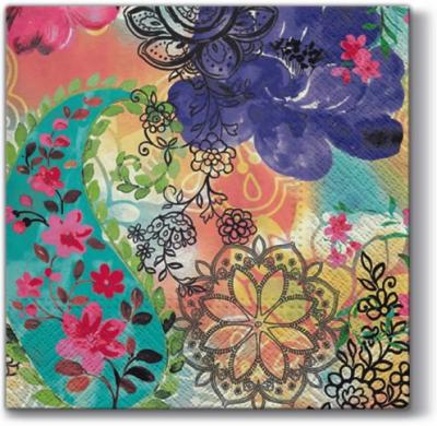 Lunch Servietten Floral Mix,  Blumen -  Sonstige,  Everyday,  lunchservietten,  Blumen,  Ornamente