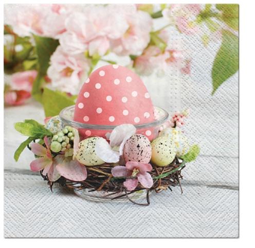Lunch Servietten Romantic Easter