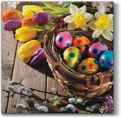 Frühjahr / Ostern,  Ostern,  lunchservietten