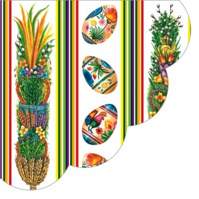 Frühjahr / Ostern, servietten,  Ostereier