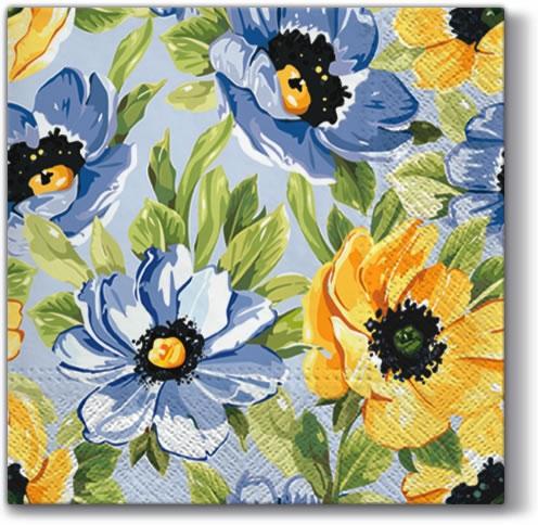 Lunch Servietten Soft Flowers,  Blumen -  Sonstige,  Everyday,  lunchservietten,  Blumen