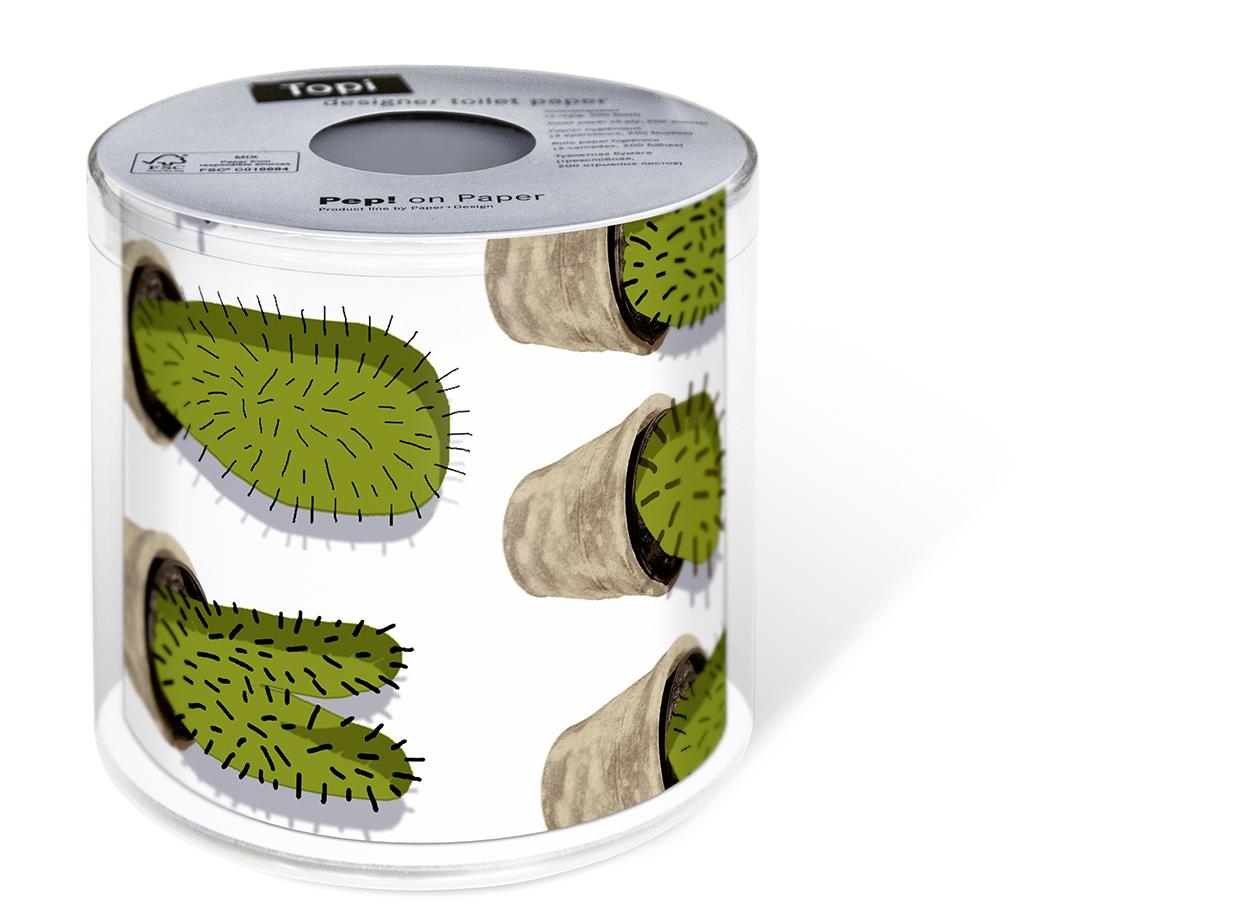 Toilettenpapier Cactuses,  Everyday,  bedrucktes Toilettenpapier,  Kaktus